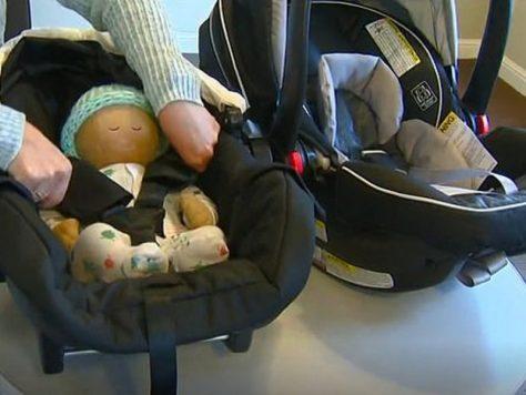 Поддельные автомобильные кресла опасны для детей