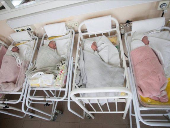 32-летняя жительница Подмосковья впервые стала мамой, родив сразу четверых