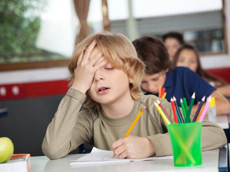 Младшие дети в классе более склонны к неспособности обучаться