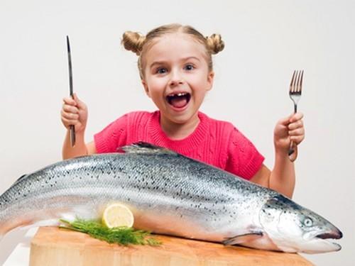 Агрессивных детей стоит кормить рыбой и морепродуктами