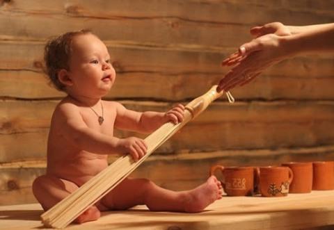 Баня и дети: с какого возраста можно париться