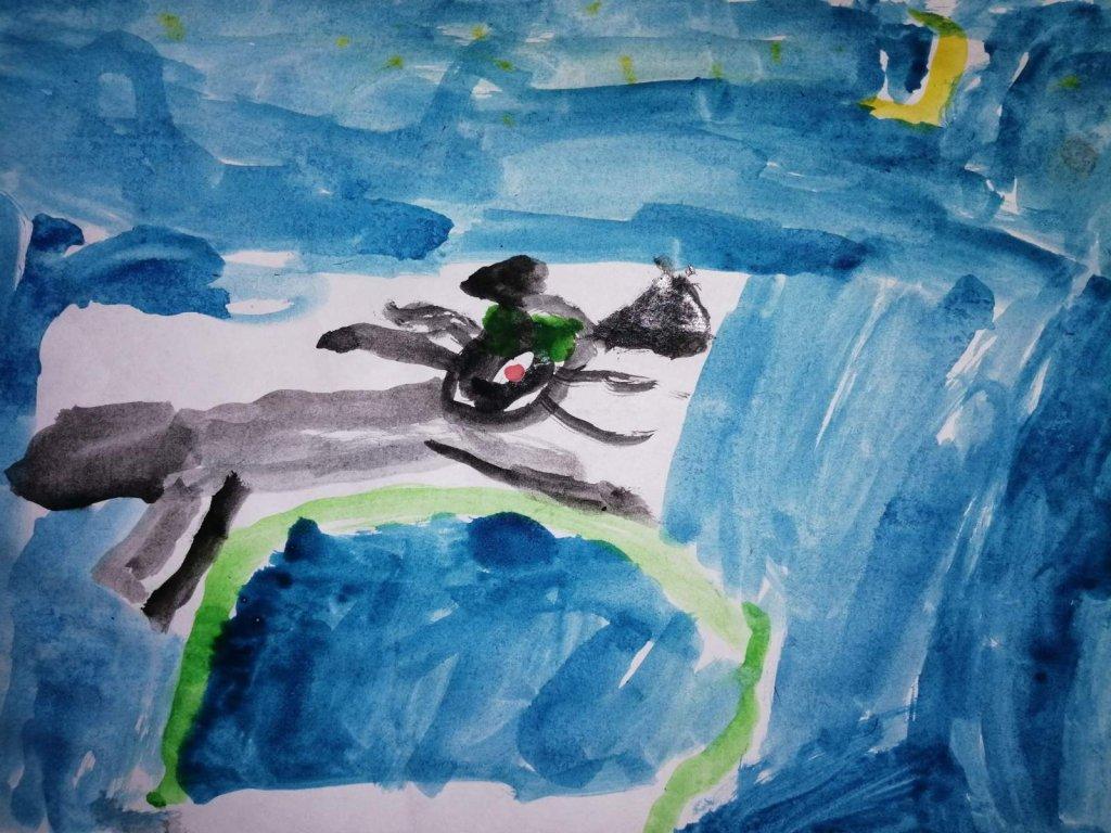 Рисунок ребенка дошкольного возраста- интересное наблюдение