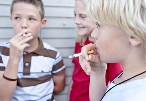 В курении детей виноваты родители