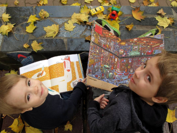 10 способов приучить детей к чтению