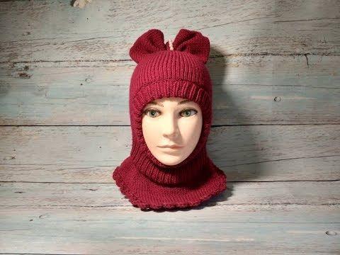 Детские зимние шапки-шлемы