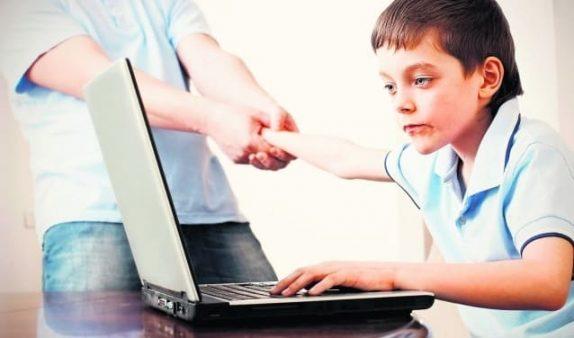 Как оторвать ребенка от компьютера