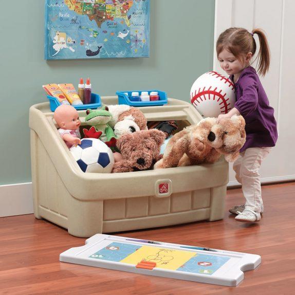 Как упорядочить детские игрушки?