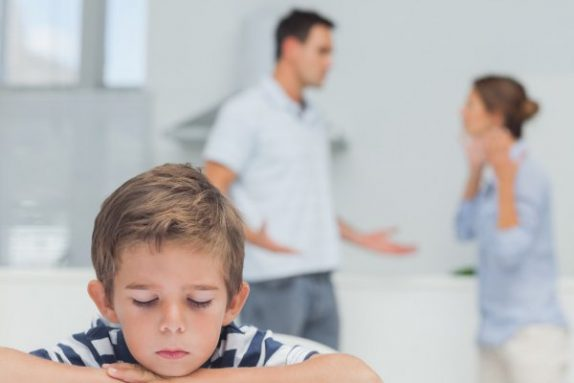 Когда родители ссорятся