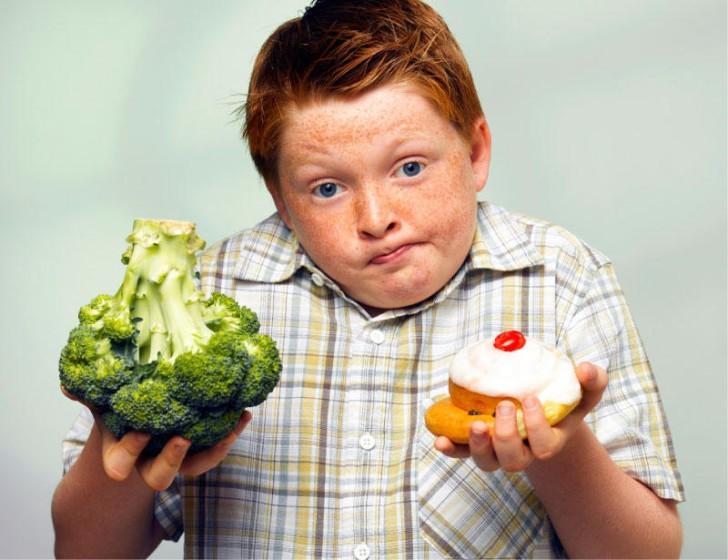 Диета для ребенка с лишним весом