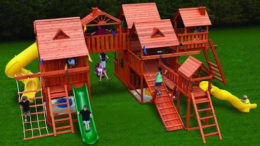 Захватывающие развлечения в детских игровых городках