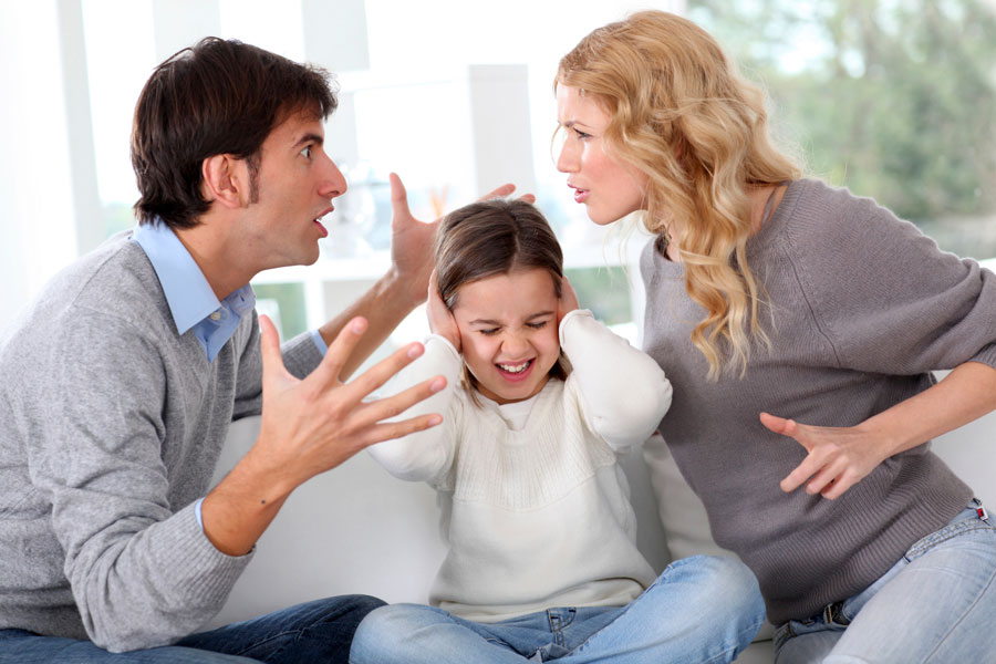 Когда в родителях согласия нет