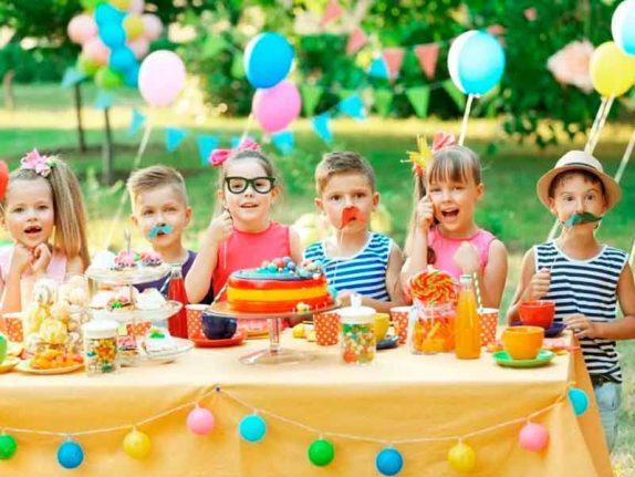 День рождения ребенка на природе
