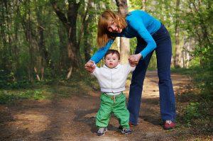 Худеем на прогулках с ребенком