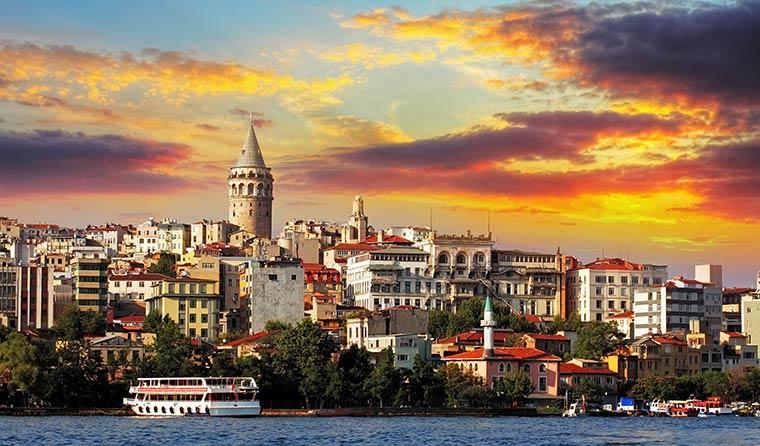 Два самых красивых города Турции