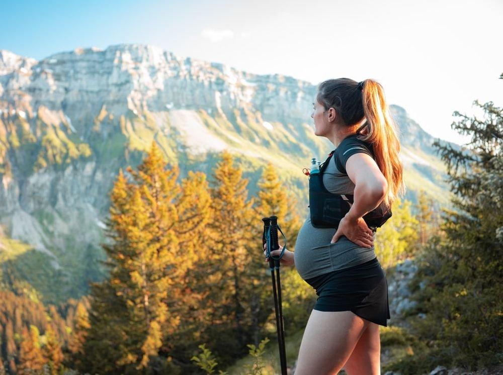 Беременные могут не боятся физических нагрузок в жару