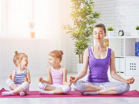 Веселый фитнес для малышей