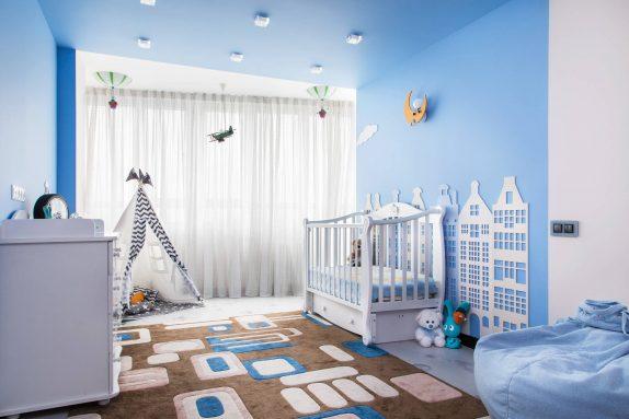 Современную квартиру можно сделать безопасной для детей