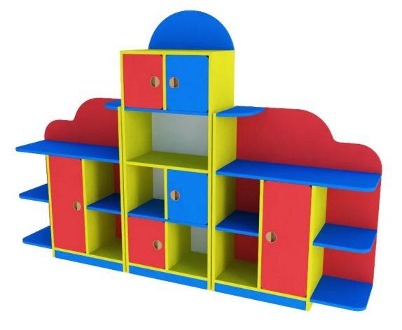 Как выбрать стеллажи для детского сада