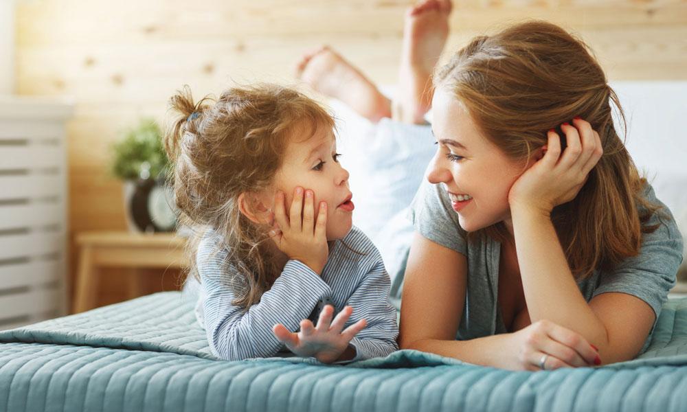 Как правильно разговаривать с ребенком?